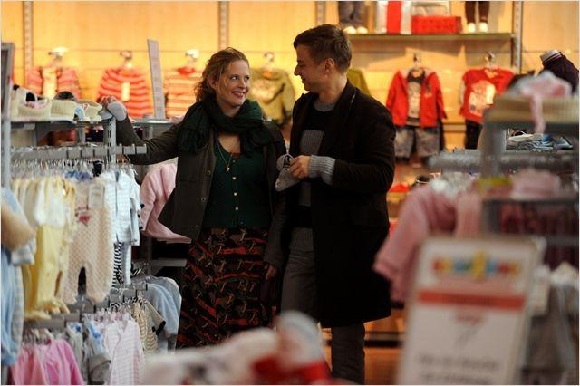 Frisch gepresst: una sorridente Diana Amft con Tom Wlaschiha