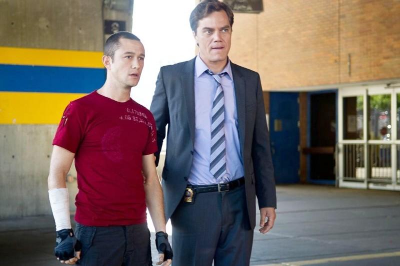 Joseph Gordon-Levitt e Michael Shannon in Senza freni - Premium Rush
