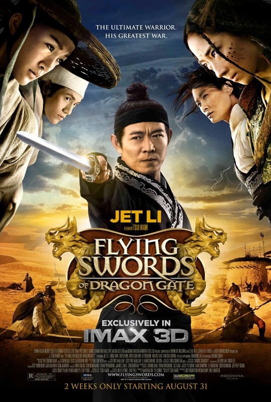 The Flying Swords of Dragon Gate: ecco una nuova suggestiva locandina