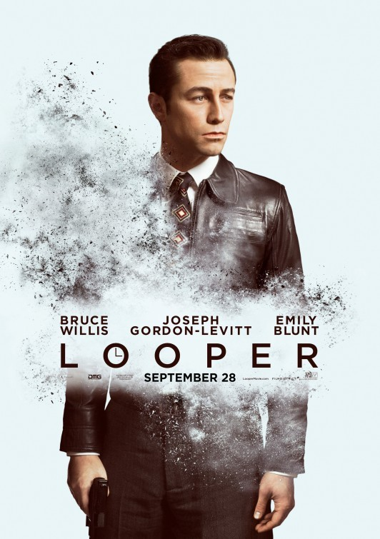 Looper: character poster per Joseph Gordon-Levitt