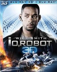 La copertina di Io, Robot 3D (blu-ray)