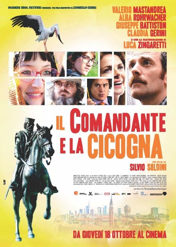 Il comandante e la cicogna: la locandina del film