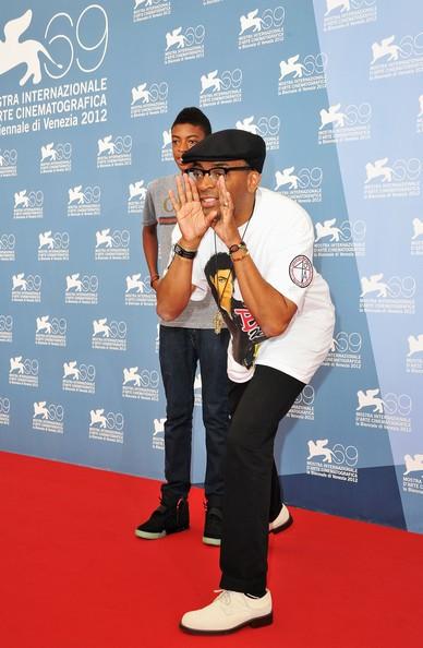 Spike Lee e suo figlio Jackson presentano alla 69esima Mostra del Cinema di Venezia il documentario Bad 25