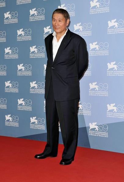 Takeshi Kitano, autore e interprete di Outrage Beyond alla Mostra di Venezia 2012