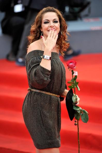 Venezia 2012: Claudia Gerini sul red carpet