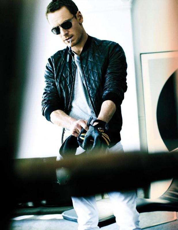 l'attore tedesco Michael Fassbender