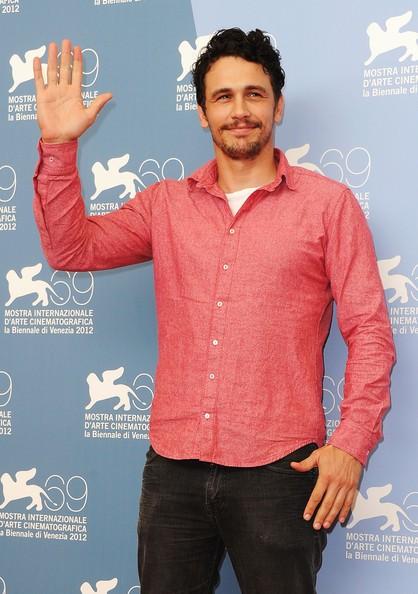 Venezia 2012, James Franco presenta Spring Breakers alla Mostra.