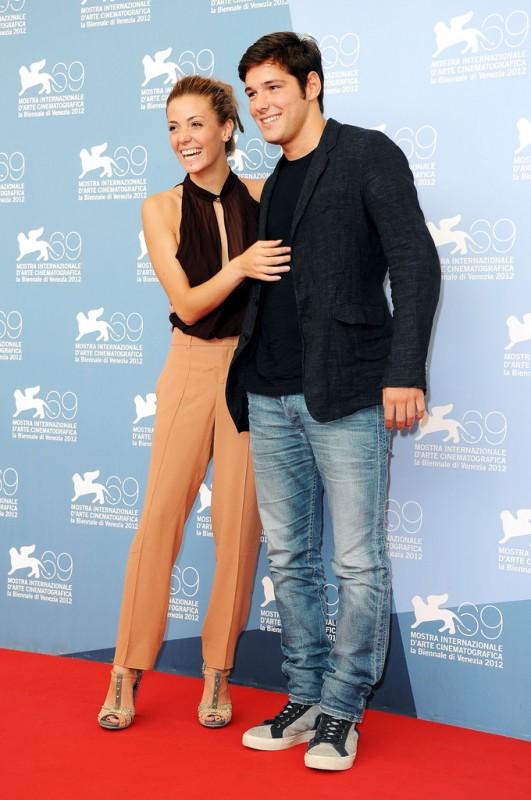 Filippo Scicchitano e Giulia Valentini: Un giorno speciale alla Mostra di Venezia 2012