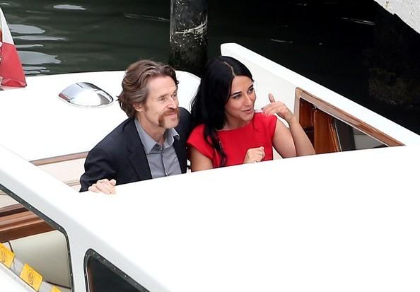 Willem Dafoe e Giada Colagrande a Venezia 2012