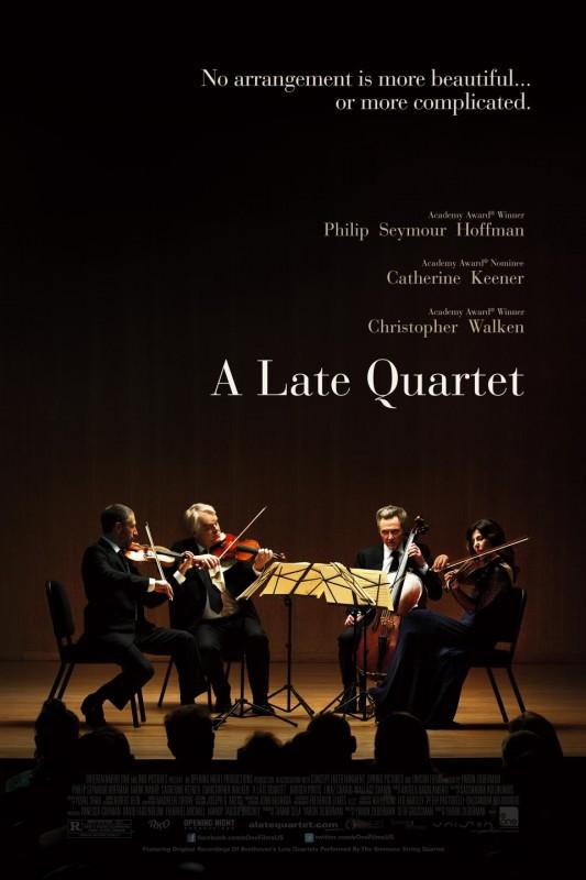 A Late Quartet: la locandina del film