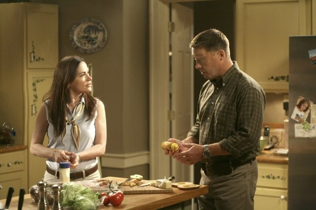 Army Wives: Kim Delaney e Brian McNamara nell'episodio Nuovi ordini