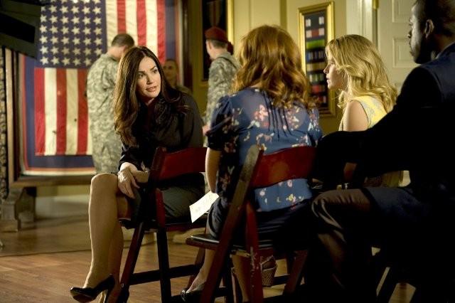 Army Wives: Kim Delaney in una scena dell'episodio Donne al comando