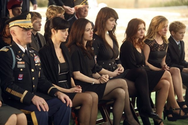 Army Wives: una scena dell'episodio Tutta la nazione grata