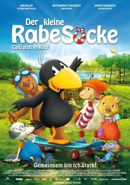Der kleine Rabe Socke: la locandina del film