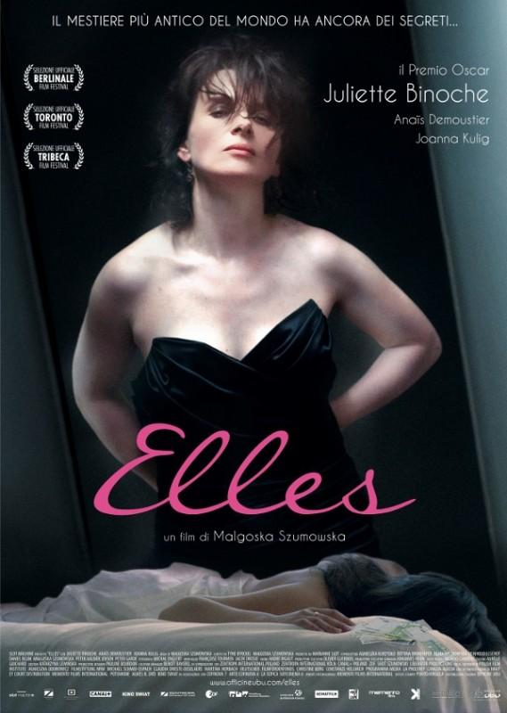Elles: il poster italiano del film