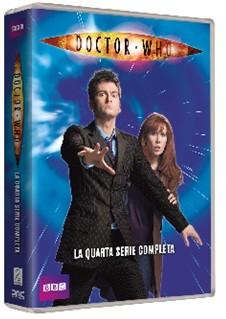 La copertina di Doctor Who - Stagione 4 (dvd)