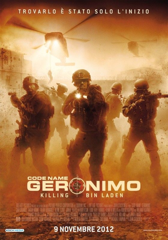 La locandina italiana di Codename Geronimo: Killing Bin Laden
