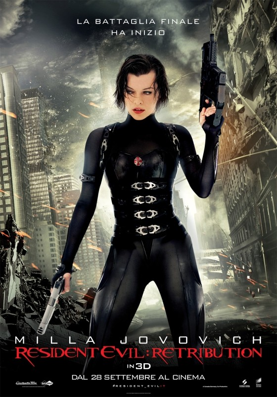 Resident Evil: Retribution, il poster italiano definitivo del film