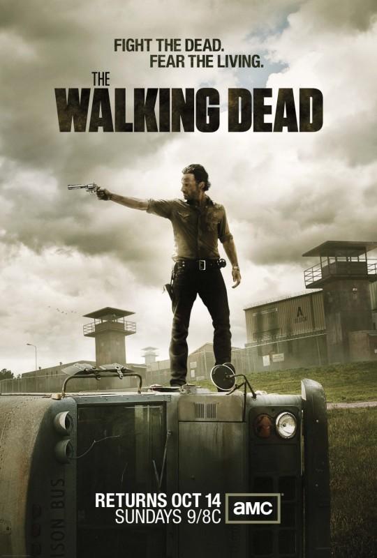 The Walking Dead: un nuovo poster della stagione 3