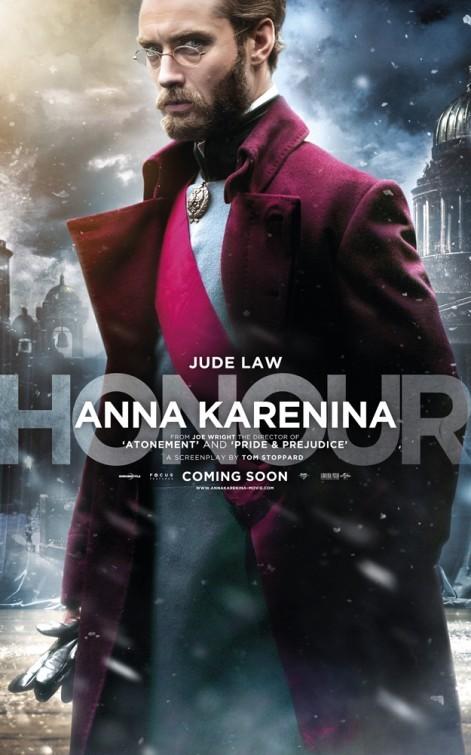 Anna Karenina: Character poster per Jude Law