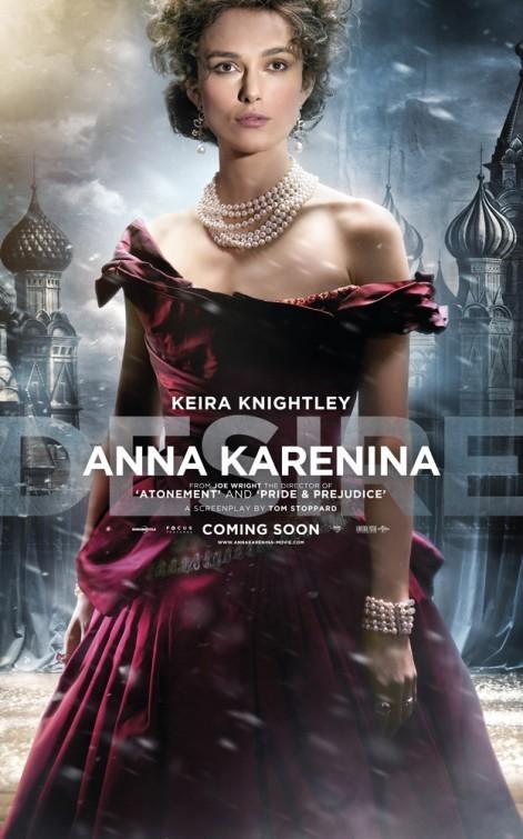 Anna Karenina: Character poster per Keira Knightley