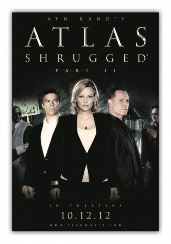 Atlas Shrugged: Part II: la locandina del film