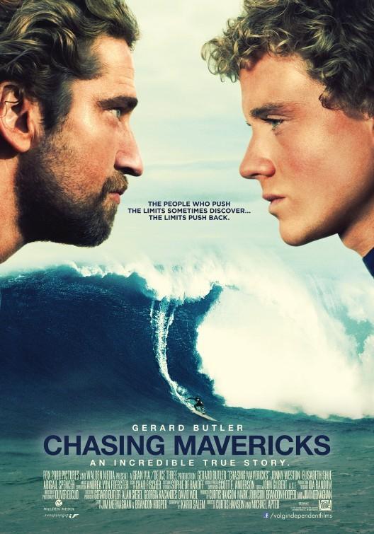 Chasing Mavericks: nuovo poster USA