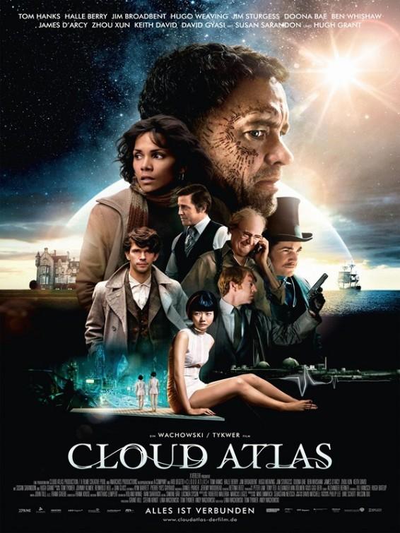 Cloud Atlas: poster tedesco