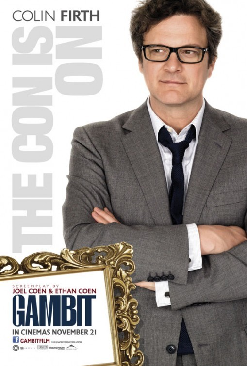 Gambit: Character Poster per Colin Firth