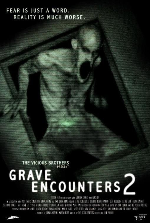 Grave Encounters 2: la locandina del film