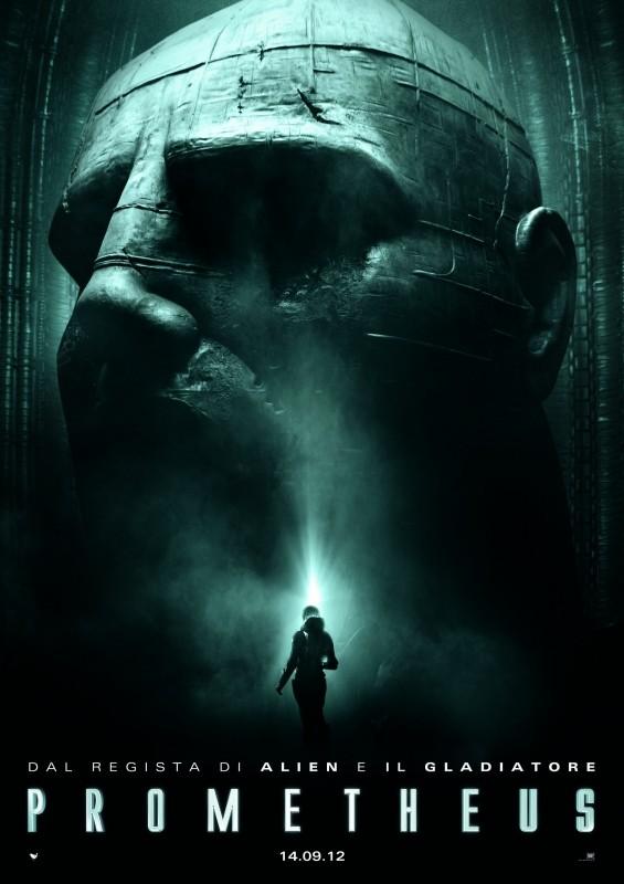 Prometheus: la locandina ufficiale italiana del film