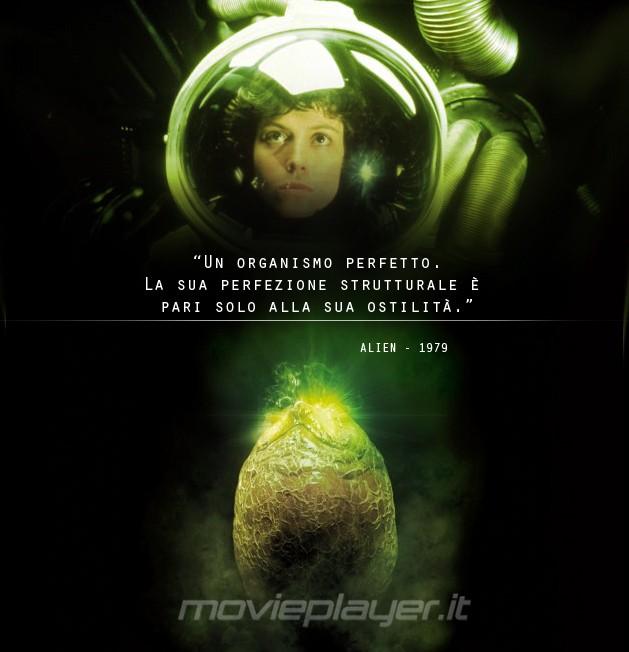 Sigourney Weaver in Alien: la nostra eCard: condividi sui social le immagini e frasi dei tuoi film e attori preferiti!