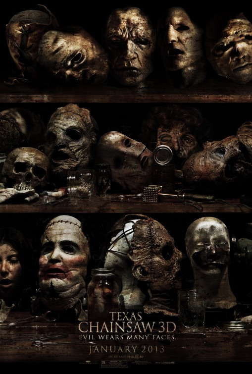 Texas Chainsaw 3D: primo poster USA