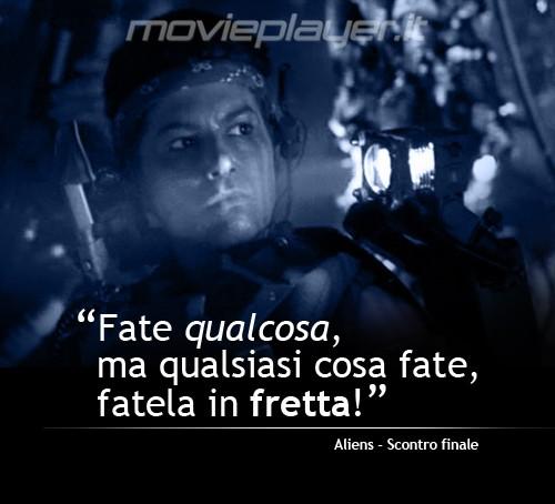 Vasquez in Aliens: la nostra eCard: condividi sui social le immagini e frasi dei tuoi film e attori preferiti!