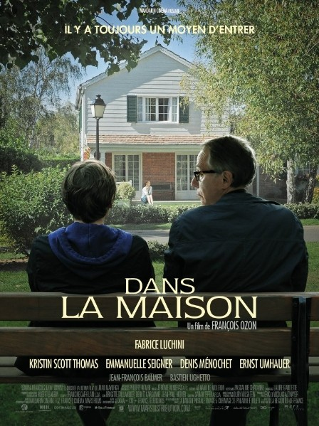 Dans la maison: la locandina del film