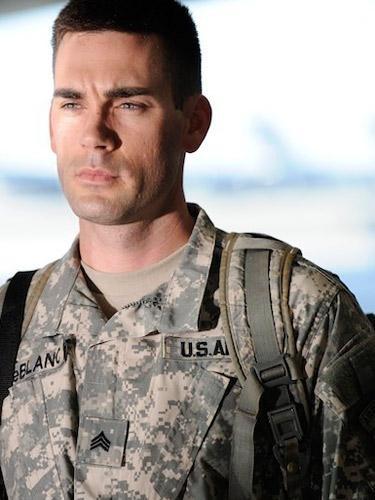 Drew Fuller in una scena dell'episodio Contromisure della quinta stagione di Army Wives - Conflitti del cuore