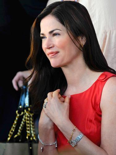 Kim Delaney in un momento dell'episodio Contromisure della quinta stagione di Army Wives - Conflitti del cuore