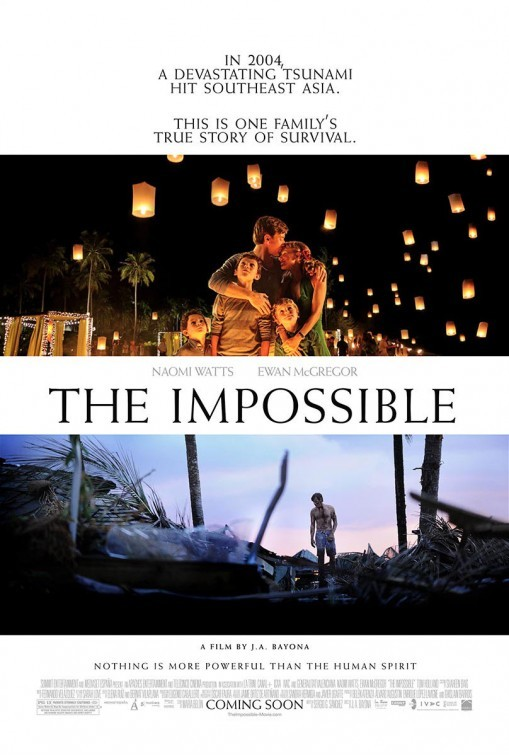 The Impossible: nuovo poster USA