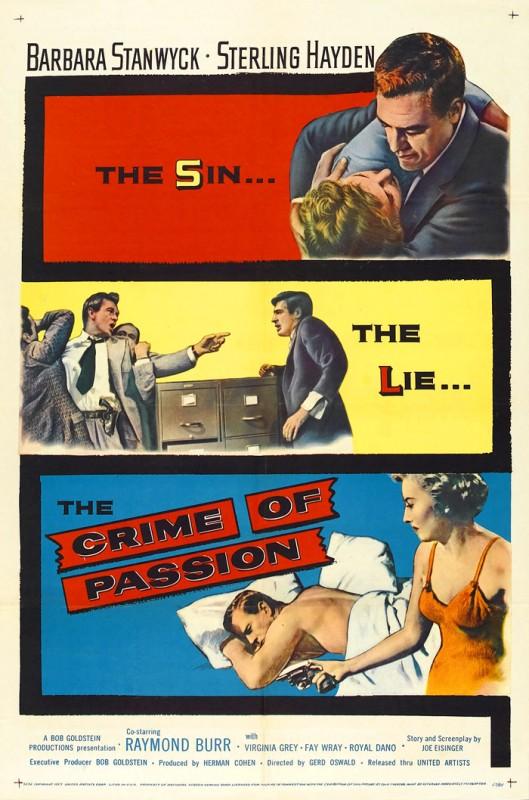 Delitto senza scampo: la locandina del film