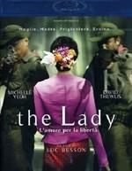 La copertina di The Lady (blu-ray)