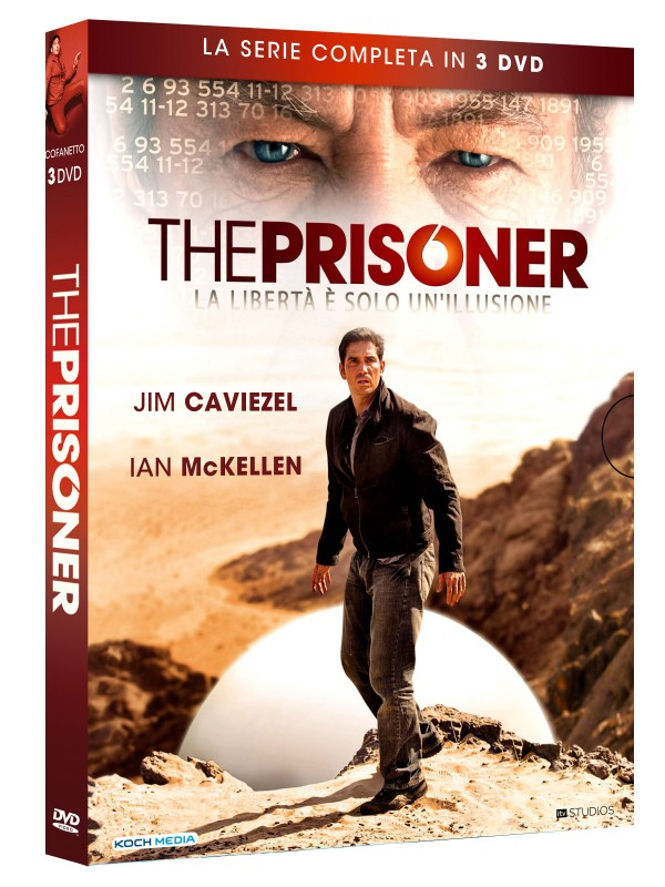 La copertina di The Prisoner - La serie completa (dvd)