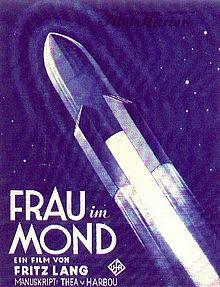 Una donna nella luna: la locandina del film