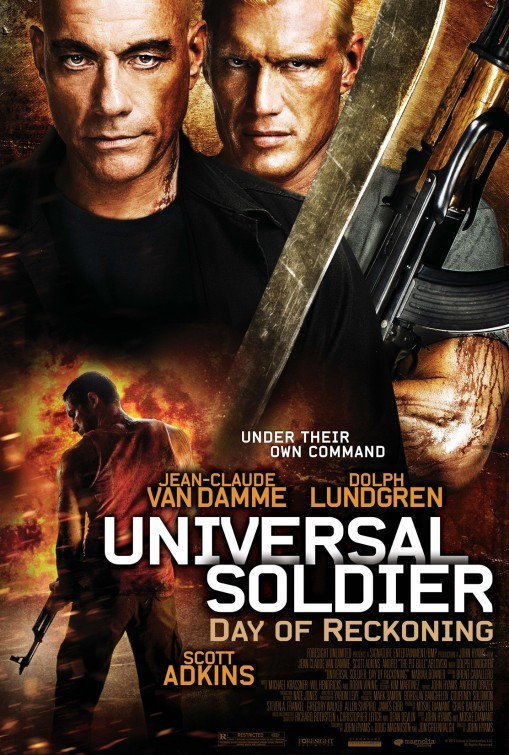 Universal Soldier: Day of Reckoning: la locandina del film