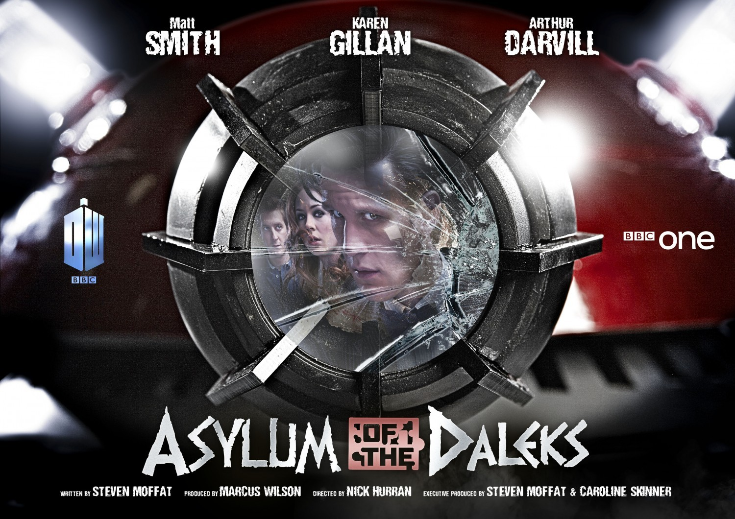 Doctor Who: un wallpaper dell'episodio Asylum of the Daleks