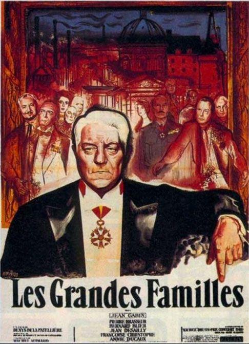 Le grandi famiglie: la locandina del film