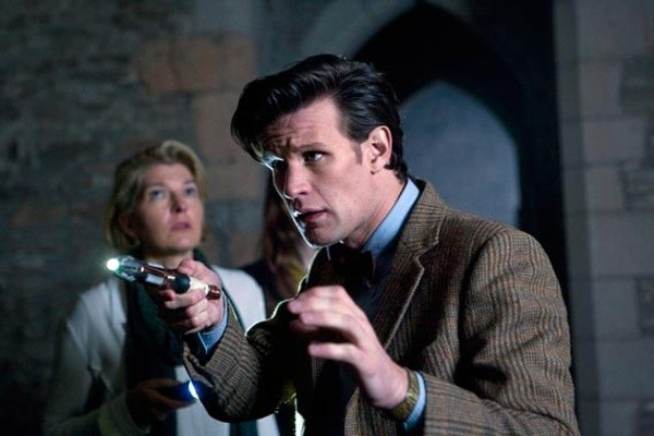 Matt Smith e Jemma Redgrave nell'episodio The Power of Three della serie TV Doctor Who