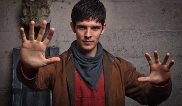 Merlin: Colin Morgan in un'immagine promozionale della quinta stagione