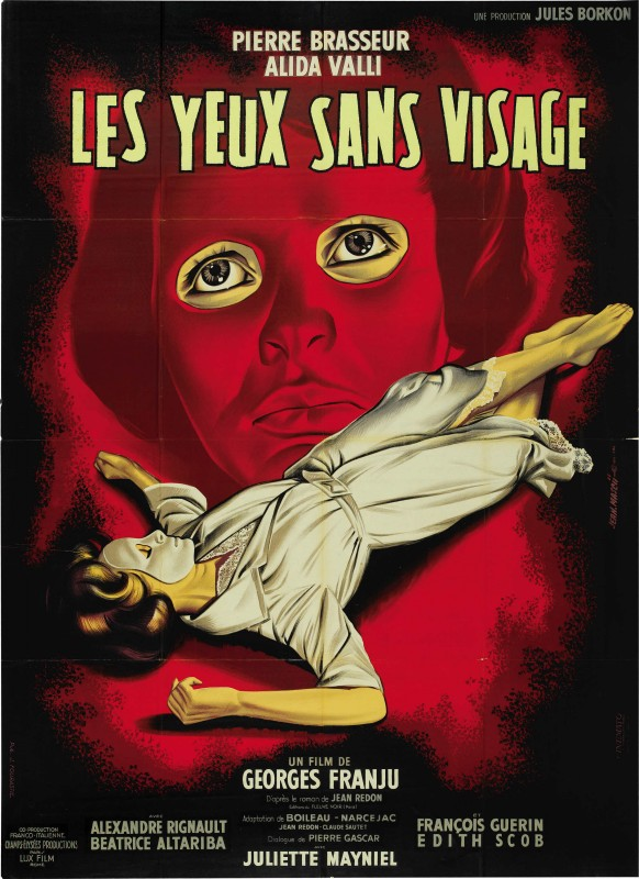 Locandina del film Occhi senza volto (1960)