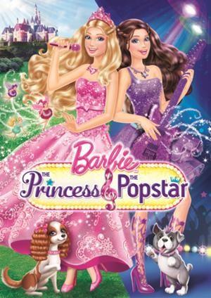 Barbie - La Principessa & la Pop Star: la locandina del film