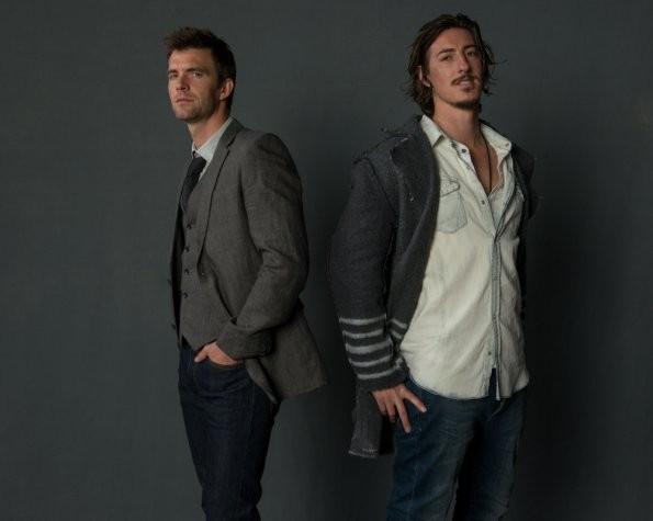 Haven: Eric Balfour e Lucas Bryant in una foto promozionale della stagione 3